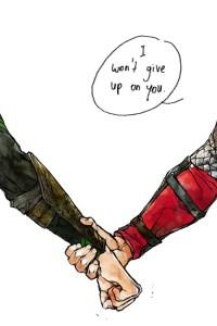 IWon'tGiveUpThor+Loki
